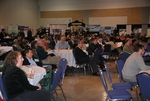 Audience listening to the Keynote speeches