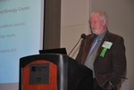 Patrick Quinlan, UMass Wind Energy Center, at the Panel Session, Preparing for a Clean Energy Career