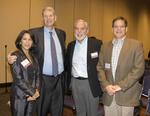 Marla Michel, Steven Goodwin, Jim Robbin, and Michael Ryan. by Dale Johnston Photography