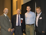 David Tuohey, Spiro Vardakas, Calvin Ellis, and Joe Harrison by Dale Johnston Photography