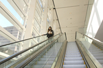 Escalator in the MassMutual Center by Dale Johnston Photography