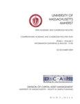 Comprehensive Academic and Classroom Facilities Plan