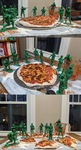 War and Pizza by Erin Jerome