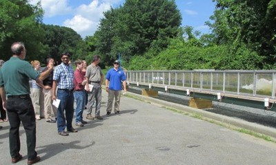 2014 Fish Passage Workshop Flume Demo