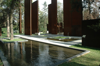Memorial to Mexico's victims of violence