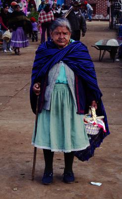 Señora en Comachuen